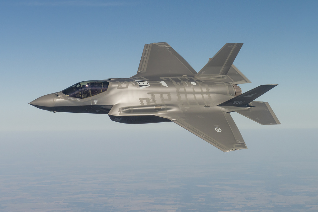 Japan produces its first F-35A Fighter Jet