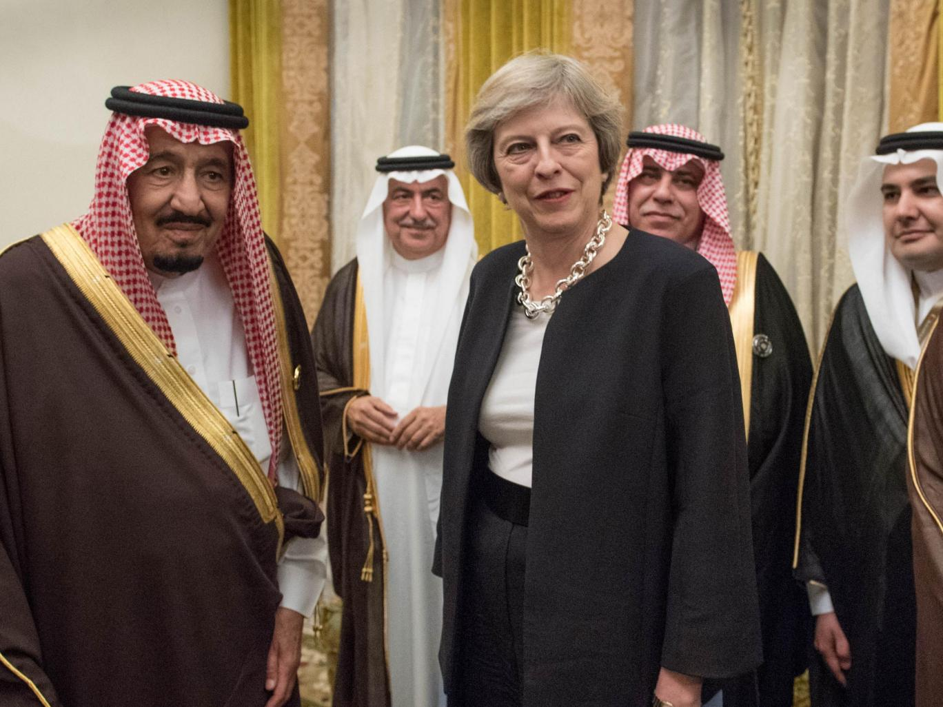 UK not breaking law by selling arms to Saudi Arabia