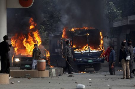 Pakistan Protests in Pictures