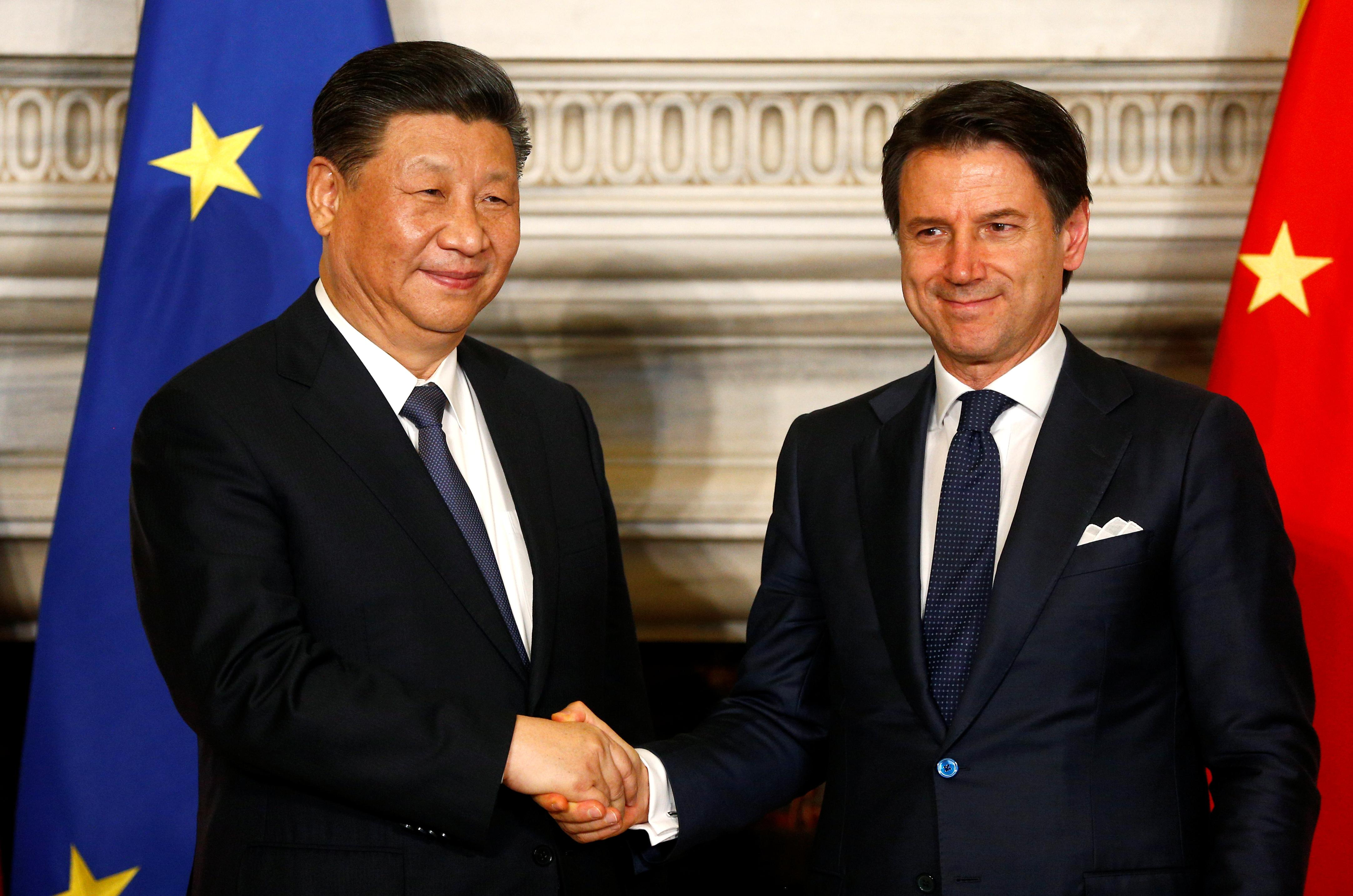 Italy's role in China's Belt and Road Initiative