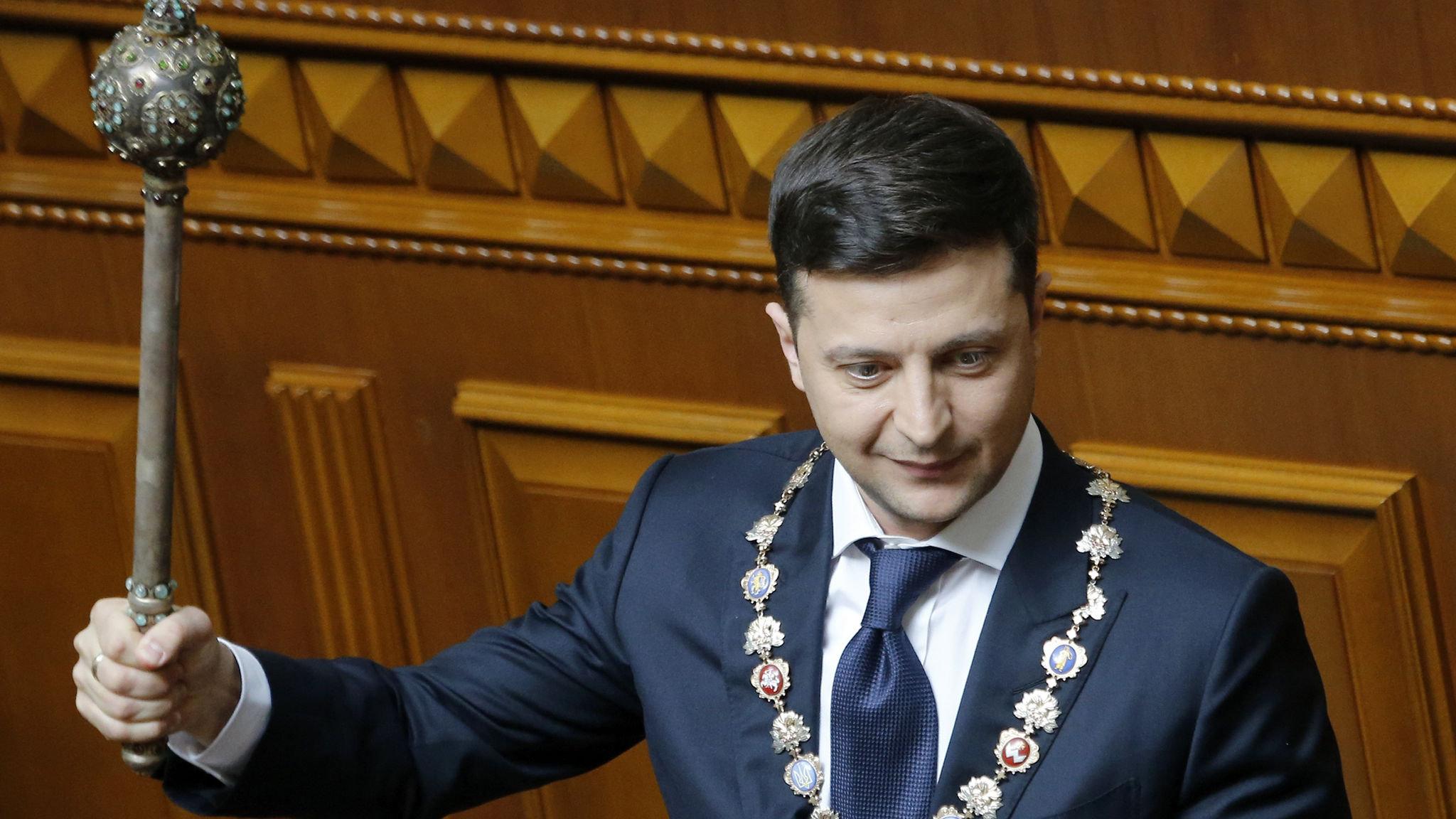 Volodomir Zelensky's Success in Ukraine : Redemption or Damnation?