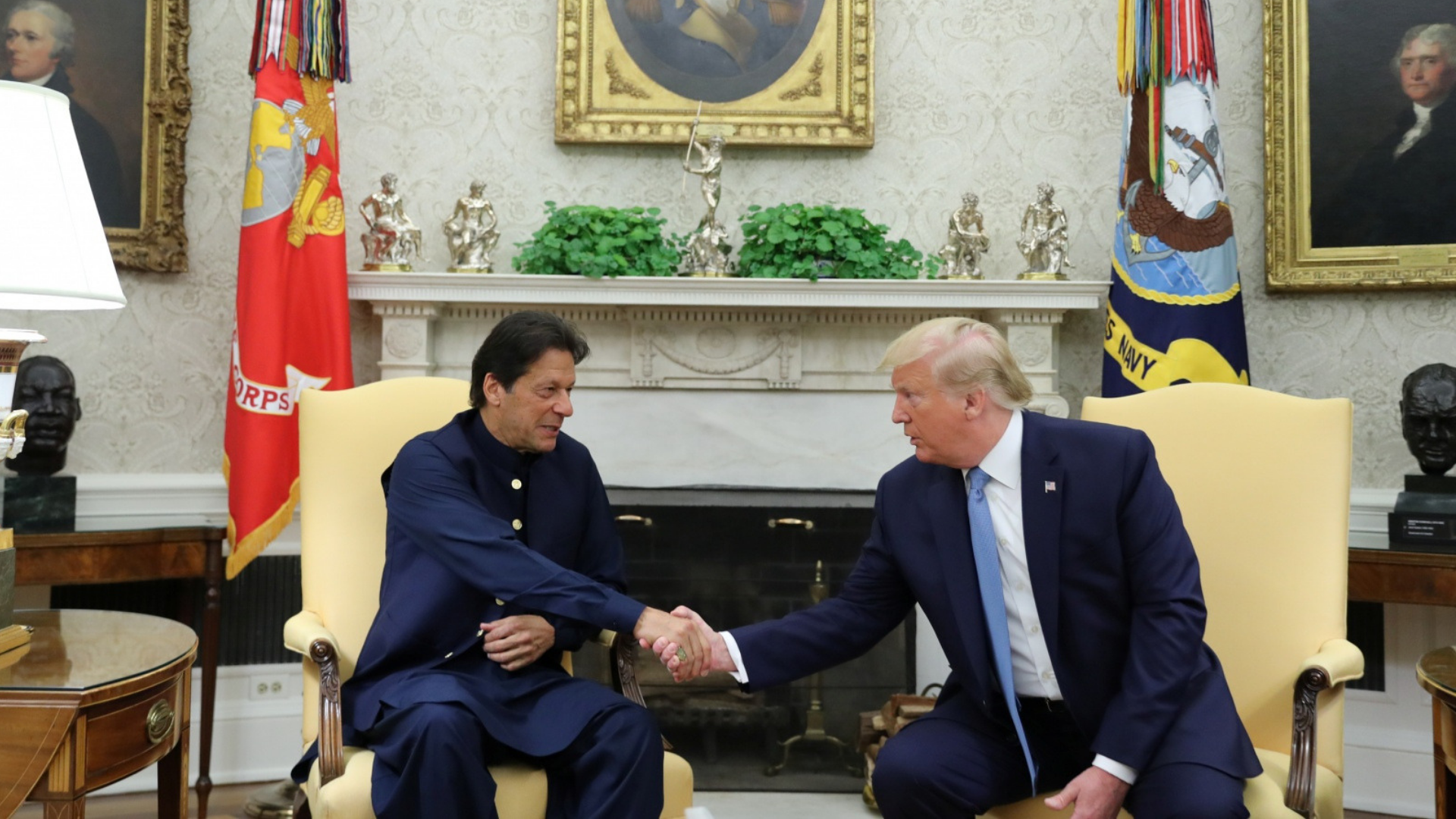 Imran Khan and Trump: From Ugly to Good