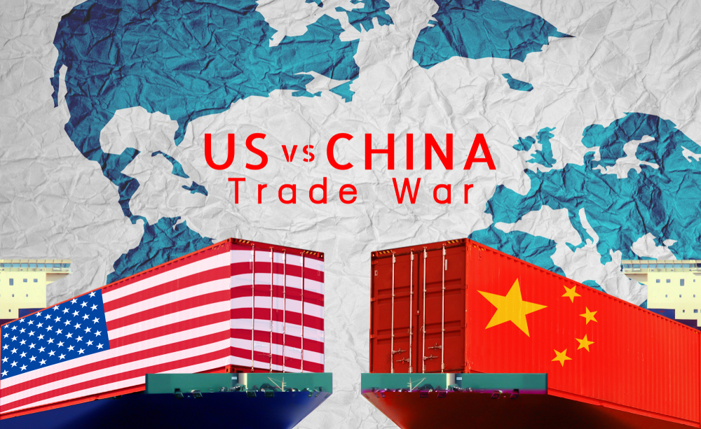 The US is losing the trade war with China and Trump is showing his frustration
