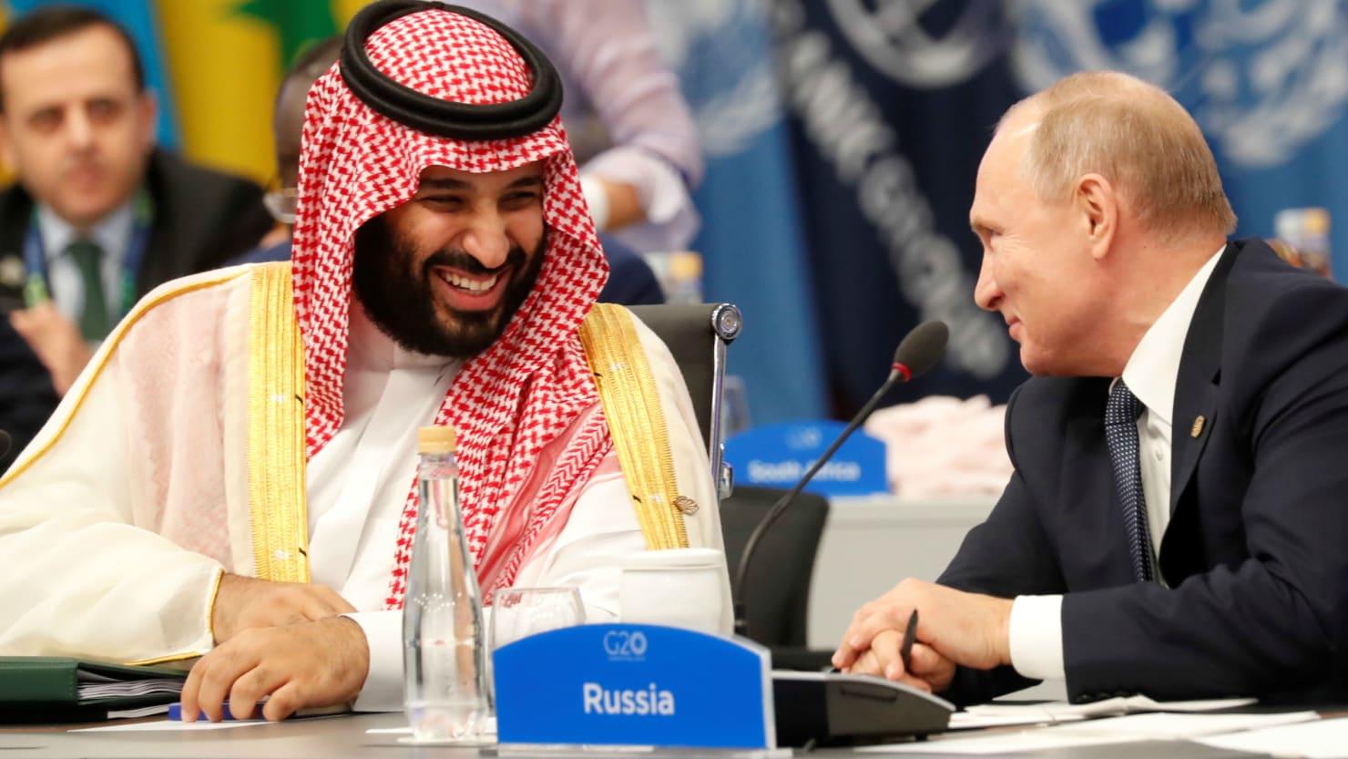 Landing in Riyadh: Geopolitics work in Putin's favour