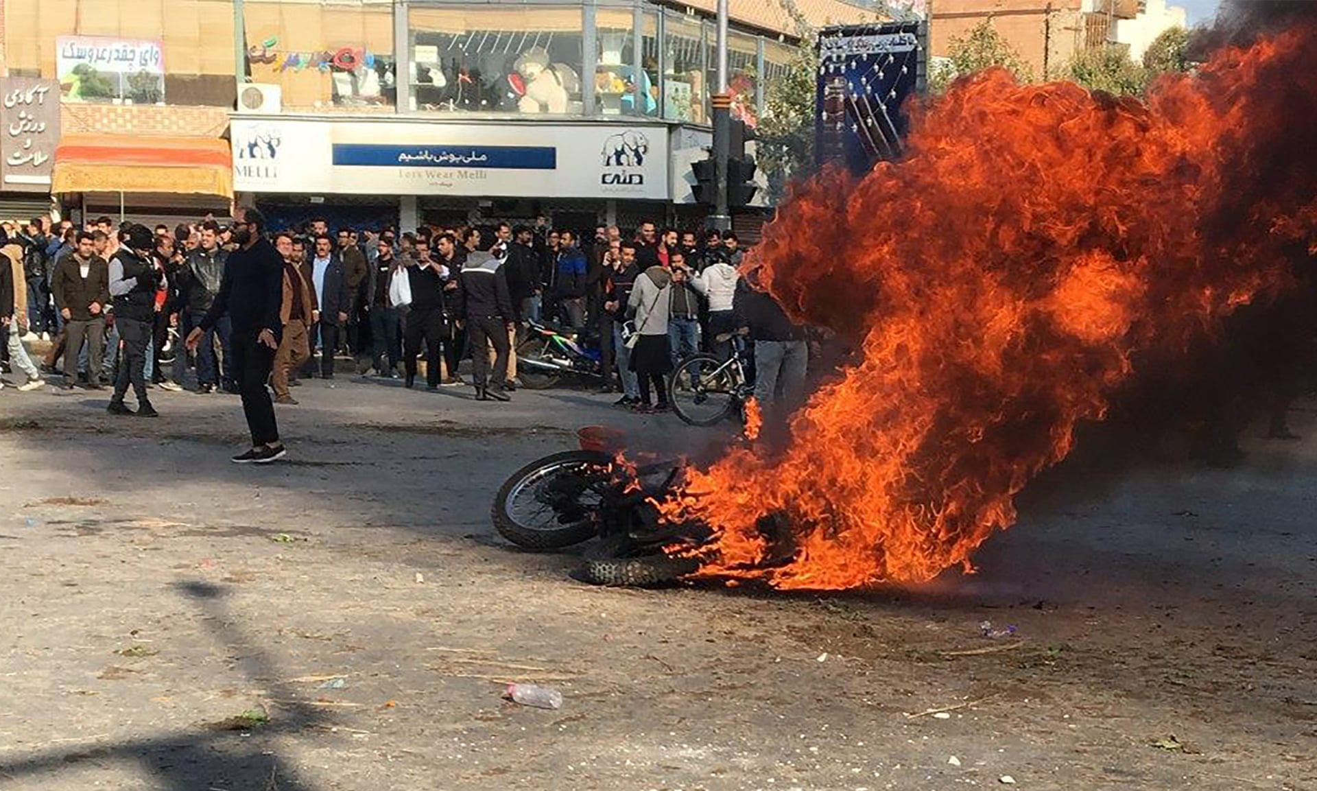 Iran unrest: Why protests against the regime always end the same way