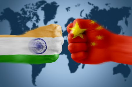 Is China trying to corner India?