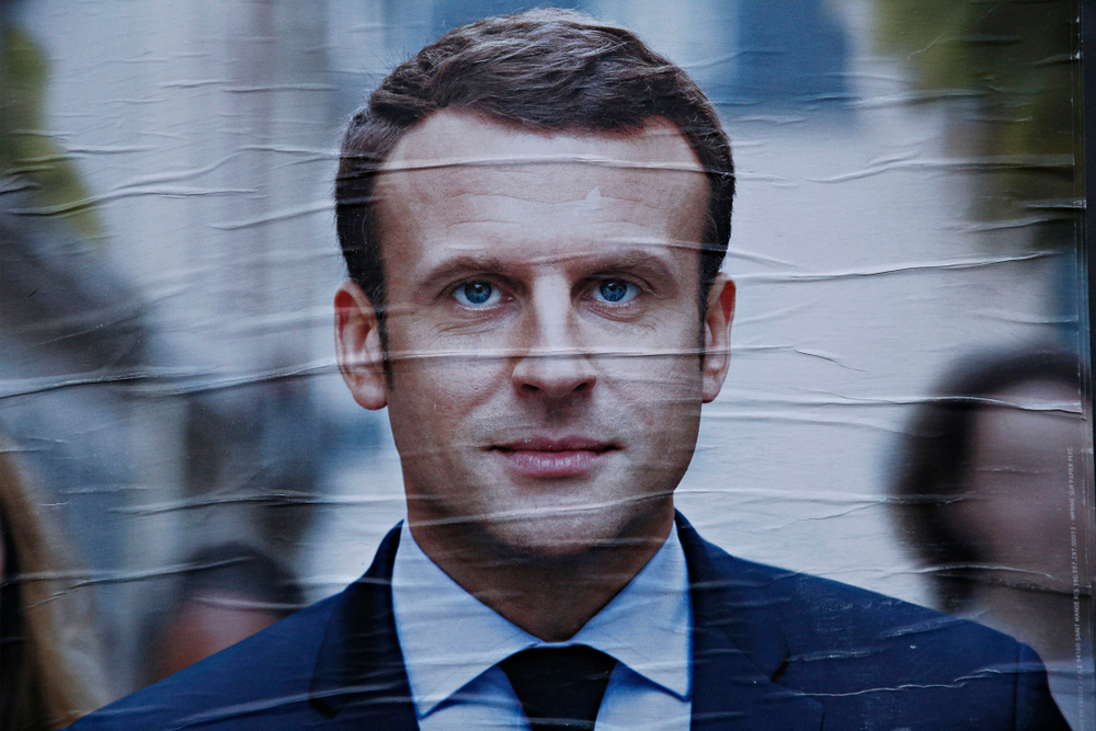 Does Macron want France to replace the US in the Middle East?