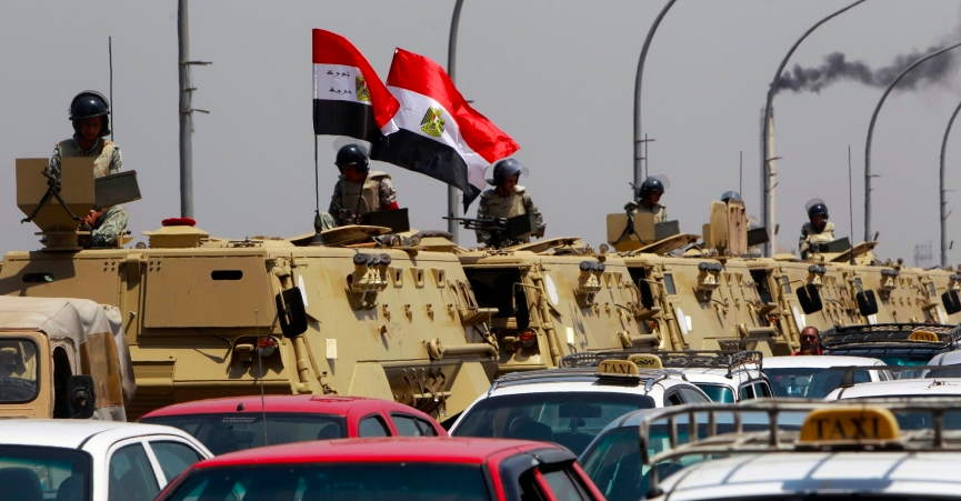 Is Egypt establishing a military and economic presence in Iraq?