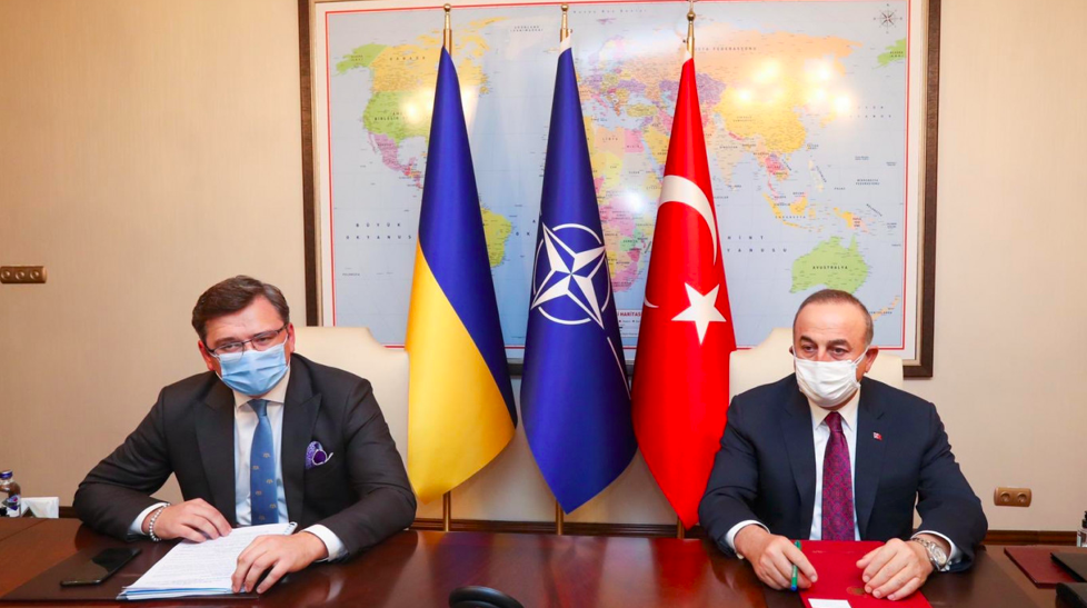 Why is Turkey is forming a strategic partnership with Ukraine?