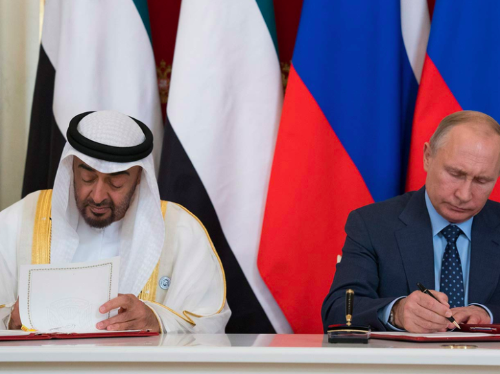 Is the UAE taking advantage of its strategic importance to the US and Israel to strengthen ties with Russia?
