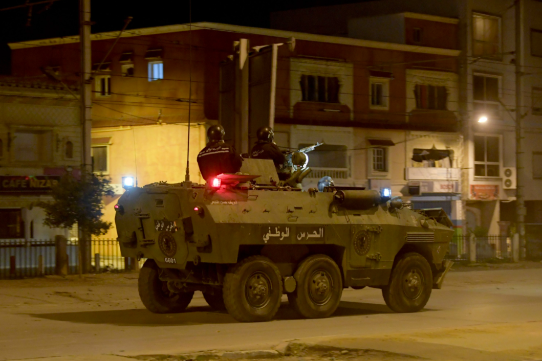 Why have protests erupted in Tunisia?