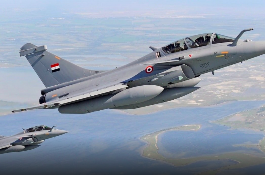Is Egypt strengthening its air force to prepare for war with Ethiopia?