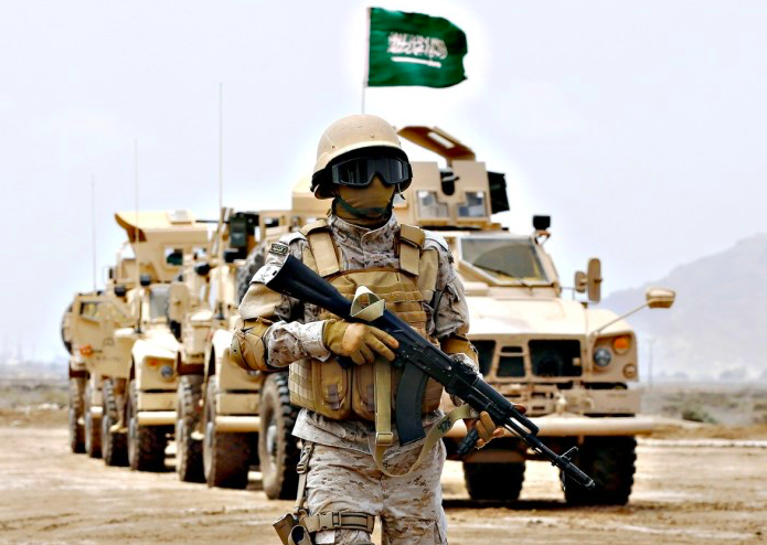 Why is Saudi Arabia trying to build up a major domestic arms industry?