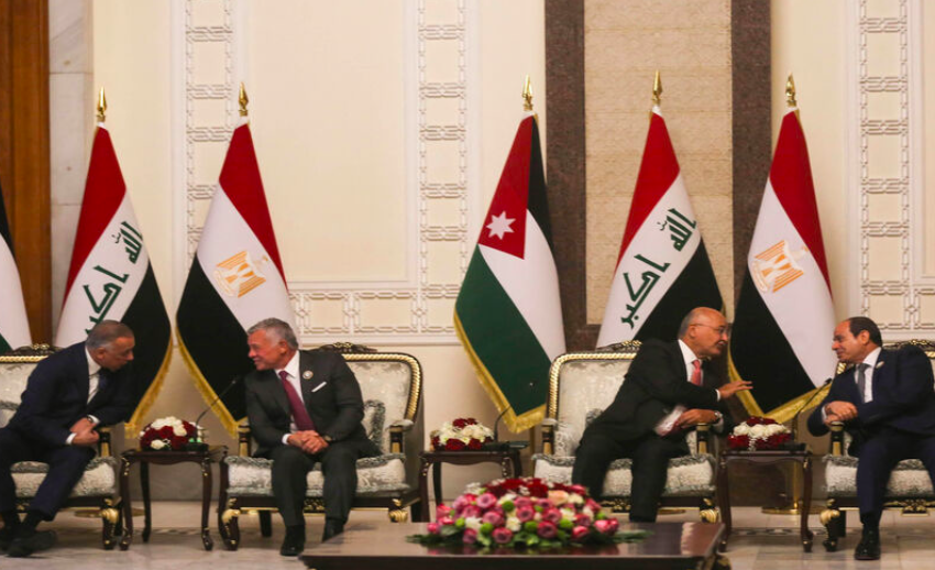 Are Egypt, Jordan and Iraq forming an alliance?