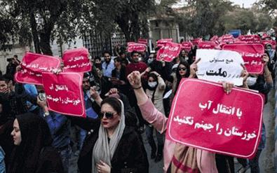 What is happening in Iran's Khuzestan?