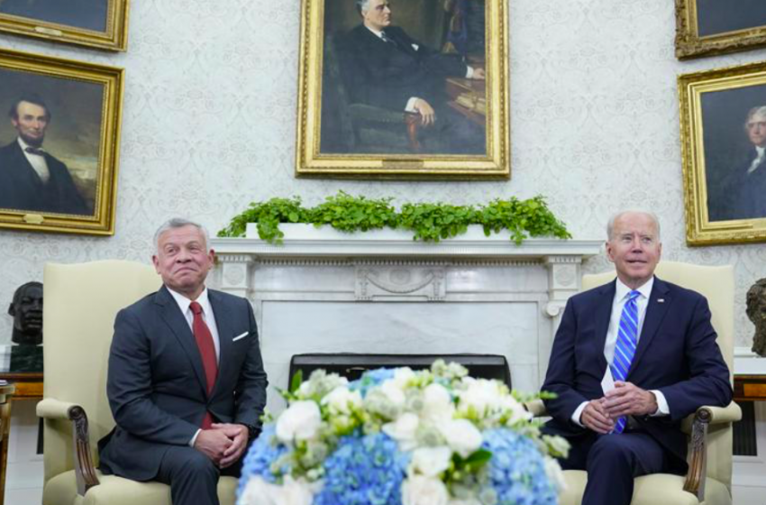 Why is the US strengthening strategic ties with Jordan?