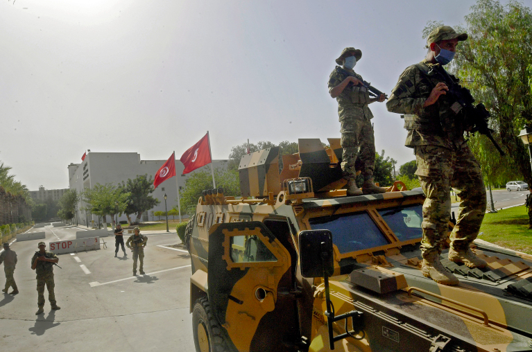 Tunisia's president launches a coup and sacks government: Is the UAE behind this move?