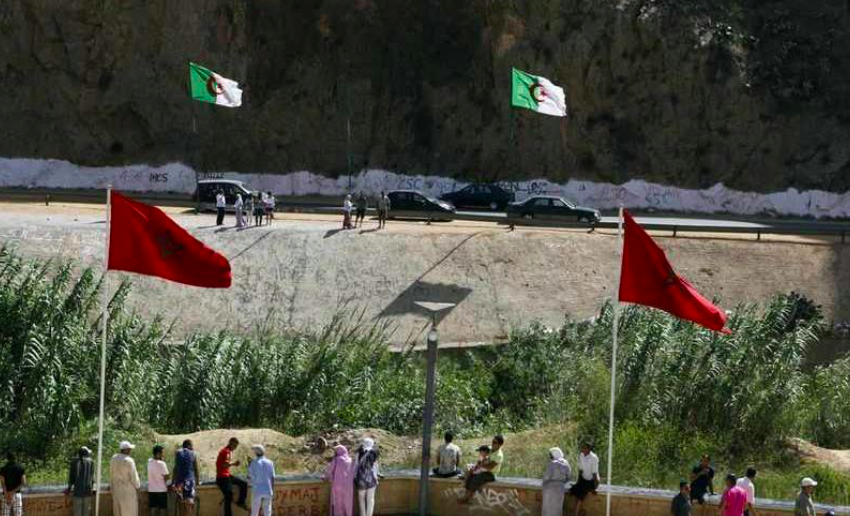 Why did Algeria cut diplomatic ties with Morocco?